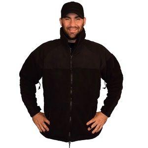 Military Black PolarTec 300 Fleece Jacket